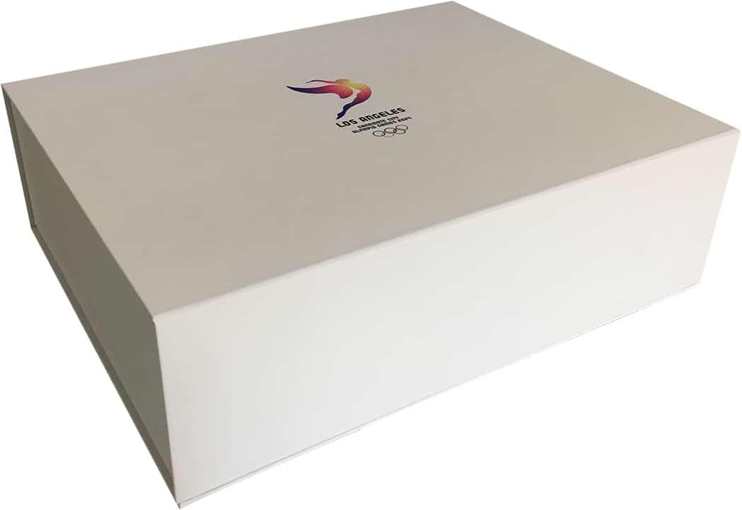 Magnetic Closure Hinge Box